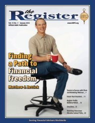 Finding a Path to Financial Freedom - iarfc