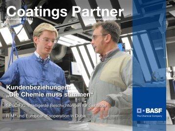 E-Journal 2/2013 (pdf) - BASF Coatings
