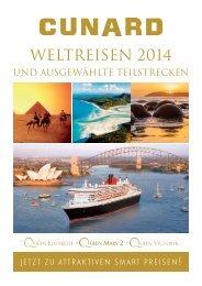 WELTREISEN 2014 - Cunard