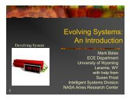 Evolving Systems: An Introduction - iaria
