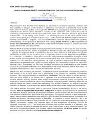 ICNS 2009 Tutorial Proposal Kant Dr. Latha Kant Telcordia ... - iaria
