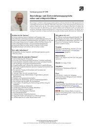 Beurteilungs- und Zielvereinbarungsgespräche sicher und erfolgreich