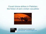 Covert drone strikes in Pakistan: the fiction of zero civilian casualties