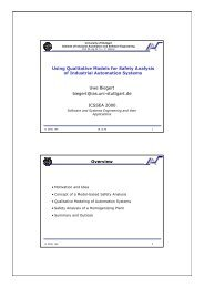 Using Qualitative Models for Safety Analysis of Industrial Automation ...