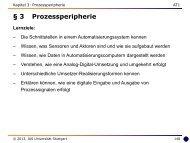 3 Prozessperipherie - Universität Stuttgart