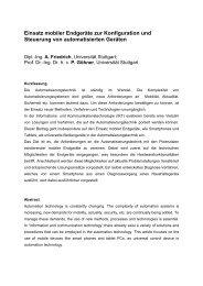Full paper - Institut für Automatisierungs- und Softwaretechnik ...