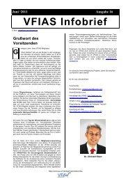 Infobrief 2011 - Institut für Automatisierungs- und Softwaretechnik ...