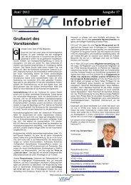 Infobrief 2012 - Institut für Automatisierungs- und Softwaretechnik ...