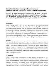 Full Paper (PDF) - Institut für Automatisierungs- und Softwaretechnik ...