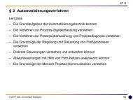 2 Automatisierungsverfahren - Universität Stuttgart