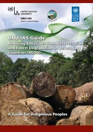 (REDD): A Guide for Indigenous Peoples - Traditional Knowledge ...