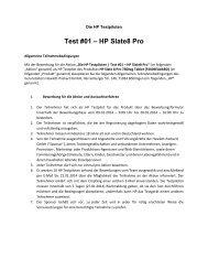 Teilnahmebedingungen - HP - Hewlett Packard