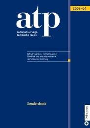 Sonderdruck (PDF) - Institut für Automatisierungs- und ...