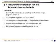 7 Programmiersprachen für die Automatisierungstechnik