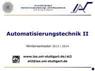 Umdruck - Institut für Automatisierungs- und Softwaretechnik