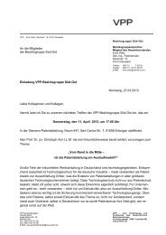 Einladung (PDF) - VPP