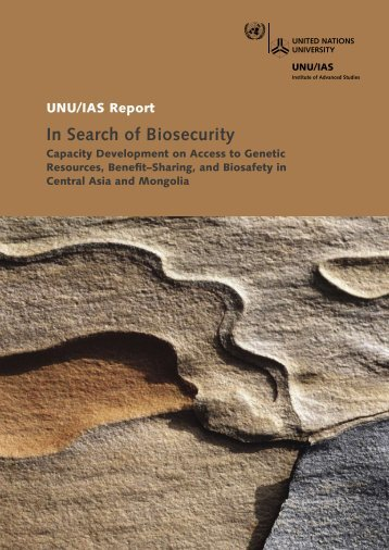 View Report as PDF - UNU-IAS - United Nations University
