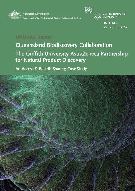 Queensland Biodiscovery Collaboration - UNU-IAS - United Nations