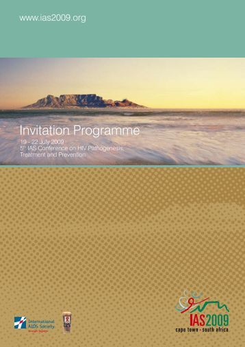 Invitation Programme - IAS 2009