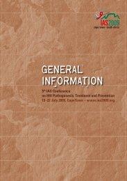 general information - IAS 2009