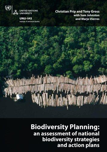 Download Biodiversity Planning - UNU-IAS - United Nations University