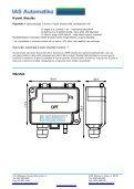 DPT-SPAN NYOMÁSKÜLÖNBSÉG-TÁVADÓ - IAS Automatika - Page 3