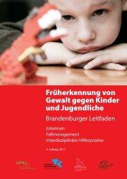 Brandenburger Leitfaden - 4. Auflage 2013 - Gesundheitsplattform