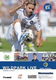 Stadionzeitung 1. Runde DFB-Pokal (KSC - VfL ... - Karlsruher SC