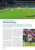 Stadionzeitung 1. Runde DFB-Pokal (KSC - VfL ... - Karlsruher SC - Seite 6