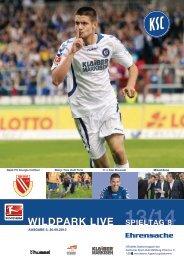 Stadionzeitung 8. Spieltag (KSC - Energie Cottbus) - Karlsruher SC