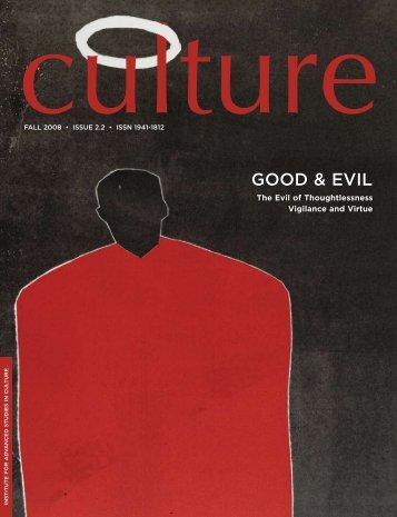 Good & evIL - Institute for Advanced Studies in Culture