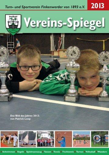 Vereins-Spiegel 2013 - TuS Finkenwerder