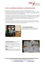 zu den didaktischen Materialien und Methodenpaketen