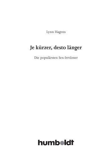 Leseprobe (PDF) - Humboldt