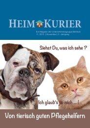 Von tierisch guten Pflegehelfern - Unternehmensgruppe Birkholz ...
