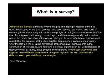 X-ray Surveys - inaf iasf bologna