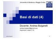select - inaf iasf bologna