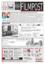 Ausgabe 38 vom 18. September 2013 - auf filmpost.de