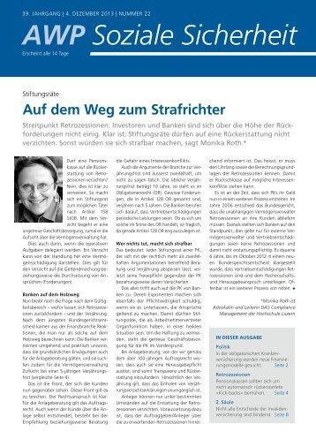 AWP Soziale Sicherheit - Hochschule Luzern