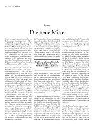 Die neue Mitte - Forum – für Politik, Gesellschaft und Kultur in ...