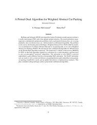A Primal-Dual Algorithm for Weighted Abstract Cut Packing