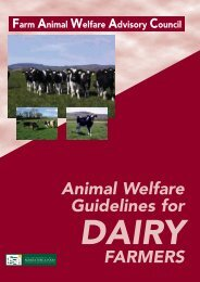 Animal Welfare Guidelines For DAIRY FARMERS - Farm Animal ...