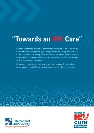Policy Paper - International AIDS Society