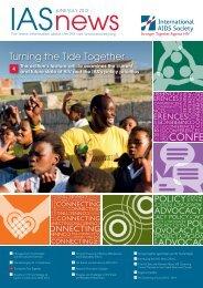 Newsletter June/ July 2012 - International AIDS Society