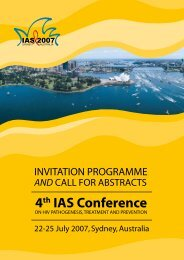 4th IAS Conference - International AIDS Society
