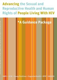 Advancing the Sexual and Reproductive Health and Human Rights ...