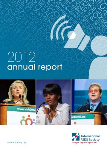 Annual Report 2012 - International AIDS Society