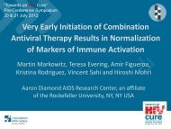 Markers of immune activation - International AIDS Society