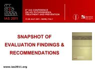 Short Version - International AIDS Society