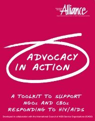 Advocacy in Action - International AIDS Society